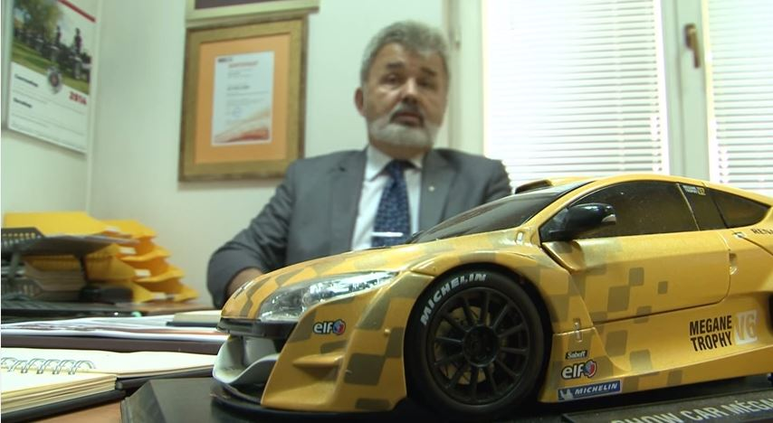 """Zoran Dragoj, direktor firme """"Hit Auto"""", koja se nalazi na istoj adresi kao i """"Integra motors""""."""