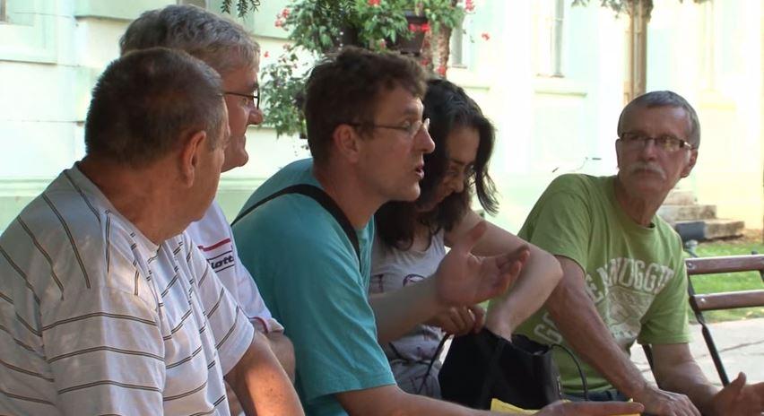 """Radnici """"Proletera"""", koje je advokat Duško Avramov  oštetio."""
