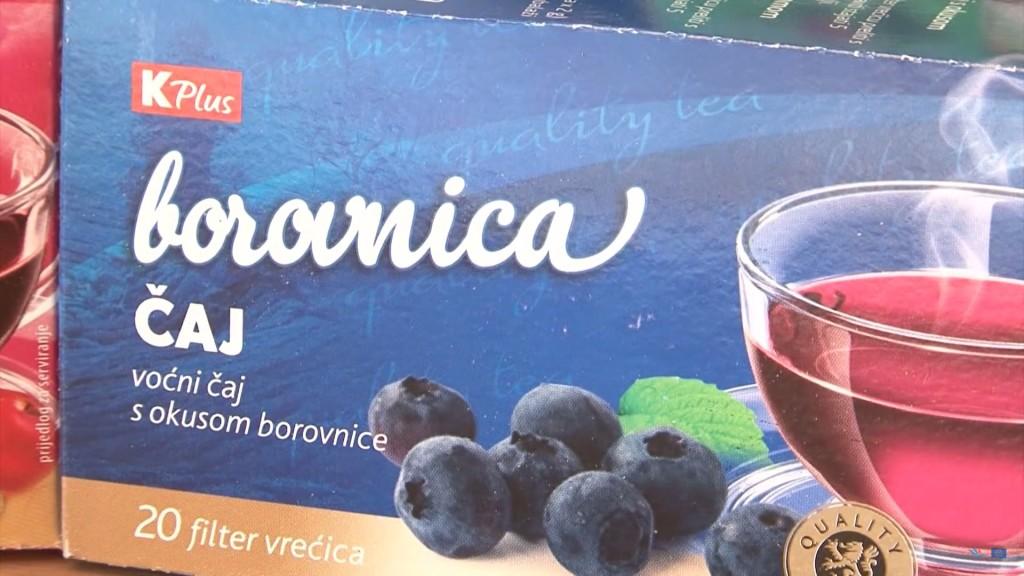 K Plus Voćni čaj Borovnica