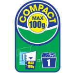 Simbol koji označava kompakt prašak