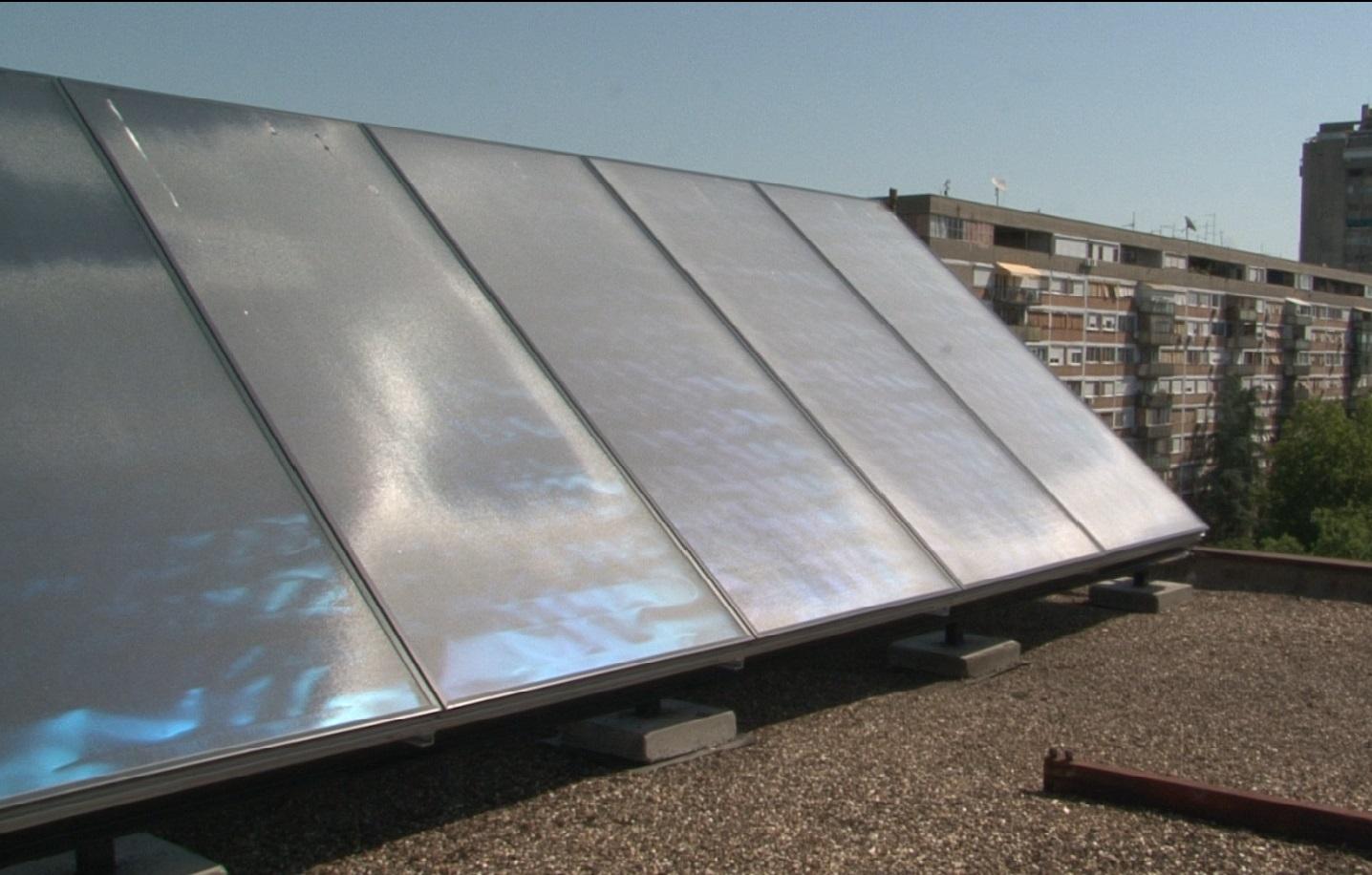 Solarni Kolektori na DZ Novi Beograd