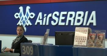 Air Serbia šalter