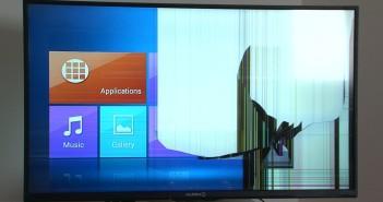 Oštećen televizor