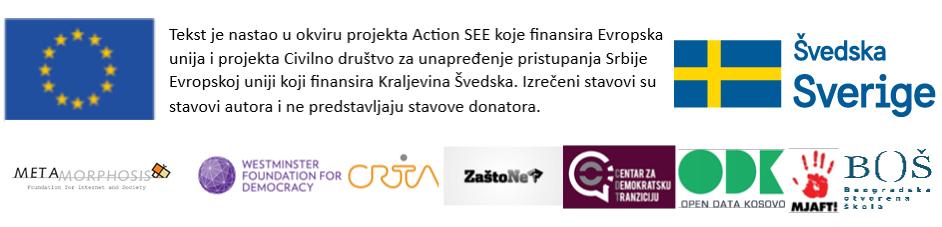 Podrška Action SEE EU Kraljevina Švedska