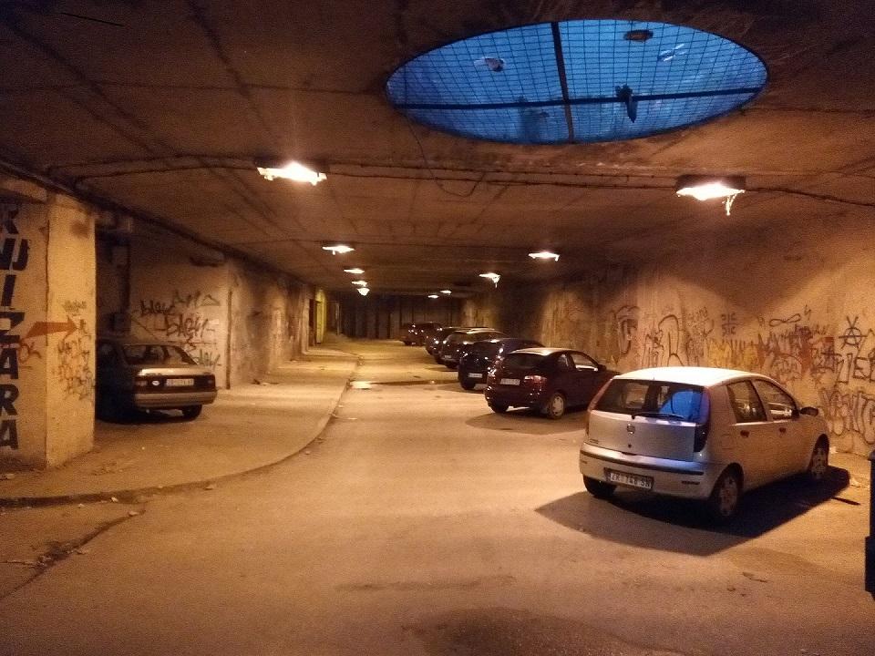Podzemna Garaža Zrenjanin Vojvođanska banka