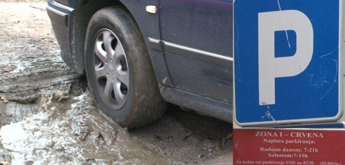 Da li se parkiranje naplaćuje zakonito?